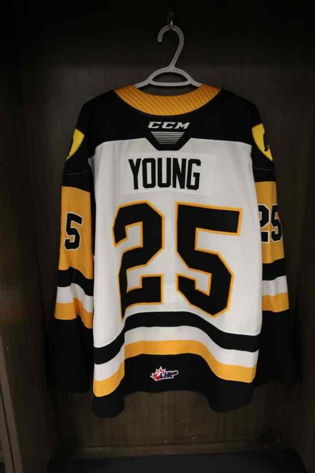 Thumbnail for #25 Davis Young