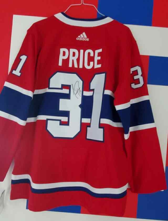 Thumbnail for #31 Carey Price Signed Jersey