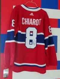 #8 Ben Chiarot Signed Jersey  thumbnail 0